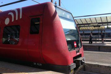 S-tog im Hauptbahnhof von Kopenhagen