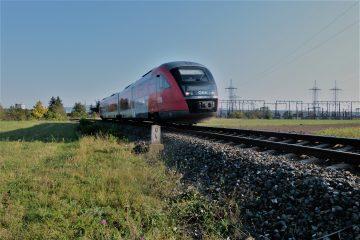 ÖBB 5022 bei Streckenkilometer 0,4 der Gutensteiner bzw. Schneebergbahn