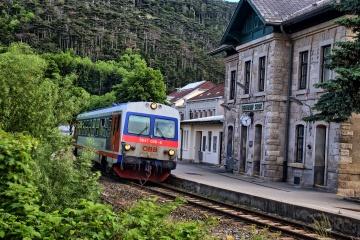 ÖBB 5047 im Bahnhof Berndorf Stadt
