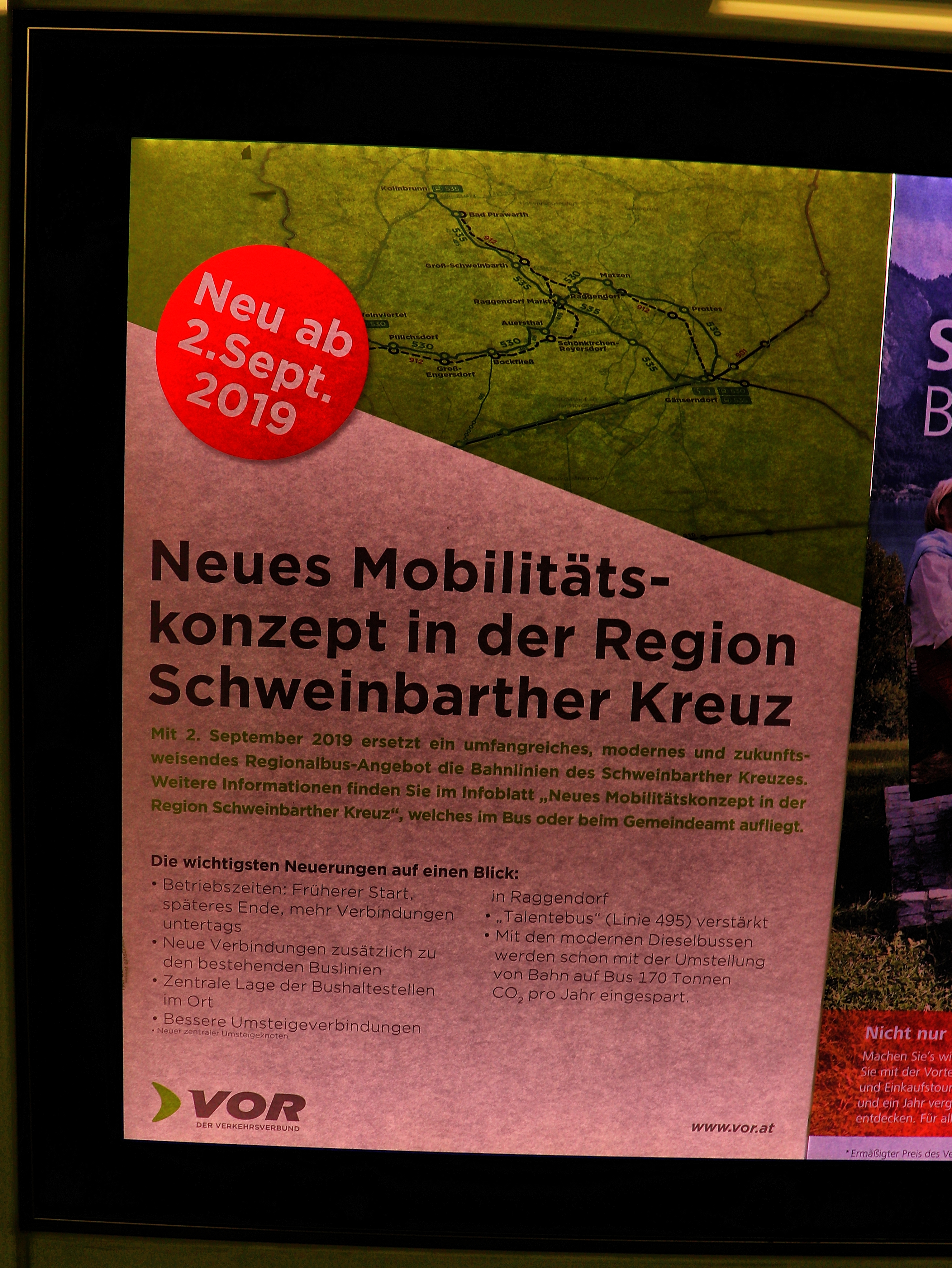 """""""Neue Mobilitätskonzept"""" mit Dieselbussen und teilweise längeren Fahrtzeiten"""