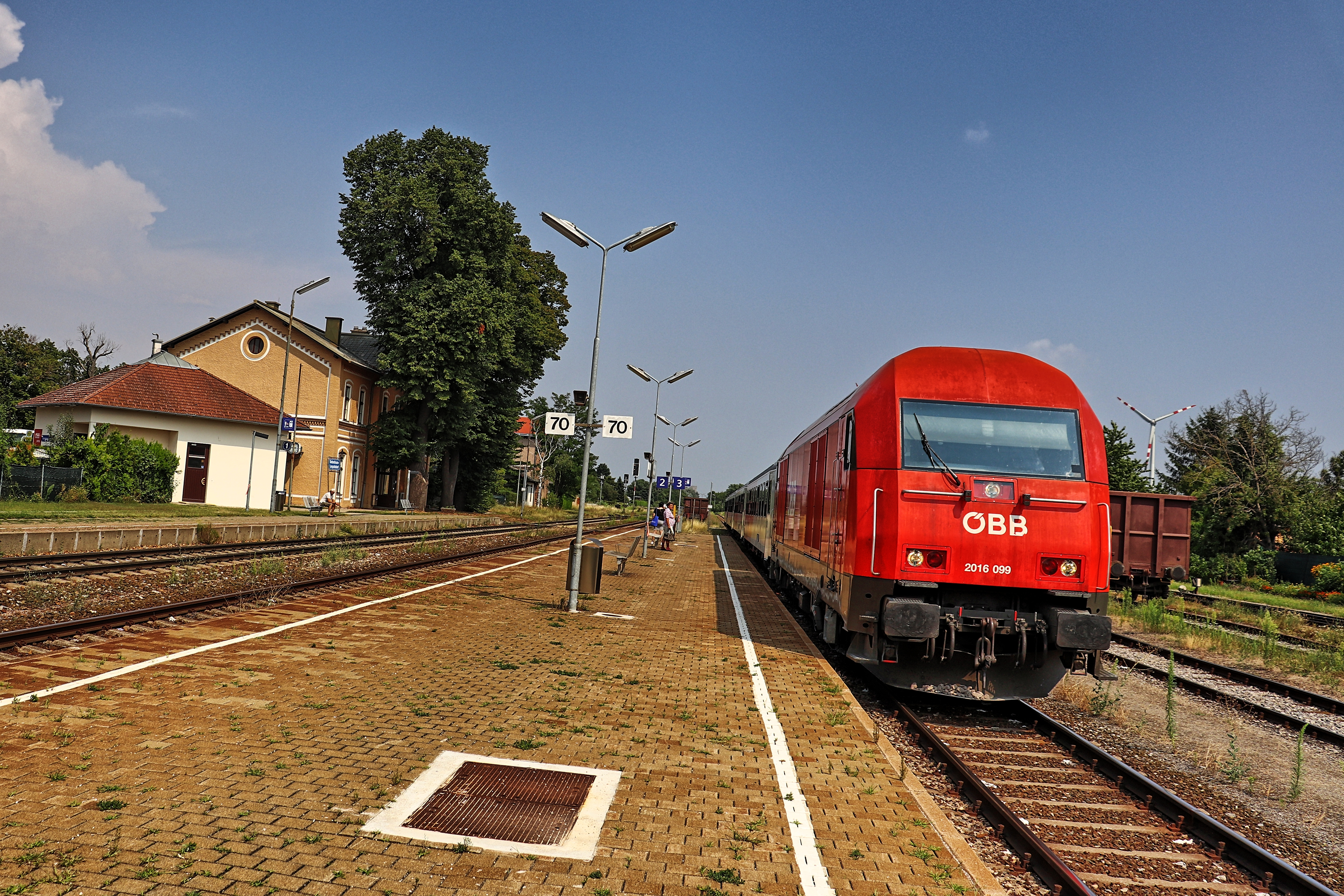 ÖBB 2016 im Bahnhof Siebenbrunn-Leopoldsdorf