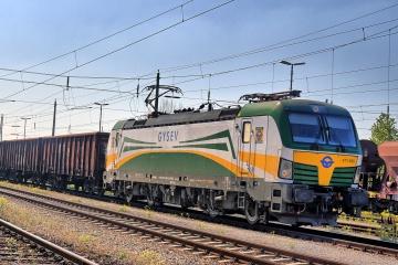 GYSEV 471 im Bahnhof Ebenfurth
